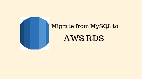 Migrate an existing database on MySQL / MariaDB to an already running RDS Instance on the AWS